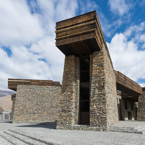 Janamani Visitor Centre, China by Atelier TeamMinus