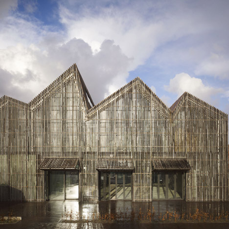 Kaap Skil, Maritime and Beachcombers Museum, Netherlands by Mecanoo Architecten