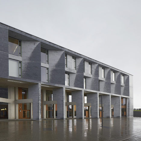 Student housing architecture dezeen for Grafton architects