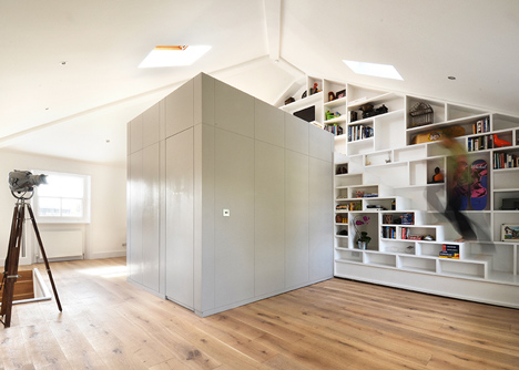 Loft conversion in camden by Craft design