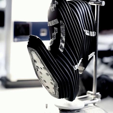 Making of Zaha Hadid's NOVA shoes for United Nude