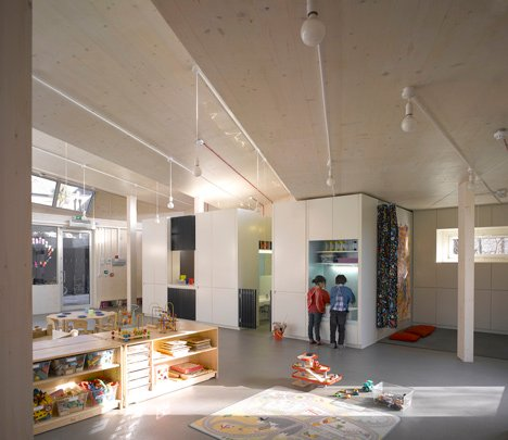 Montpelier Community Nursery by AY Architects