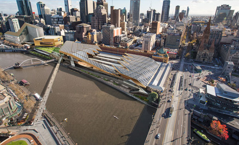 Flinders Street Station by NH Architecture