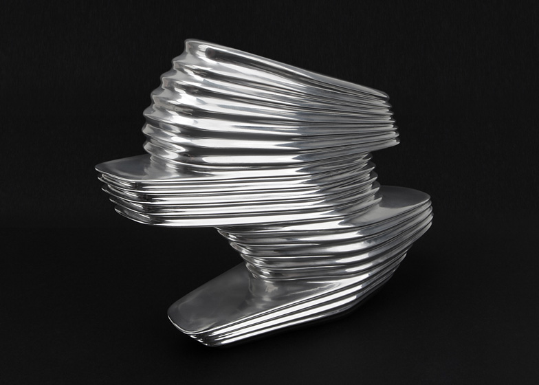 NOVA Shoe by Zaha Hadid for United Nude