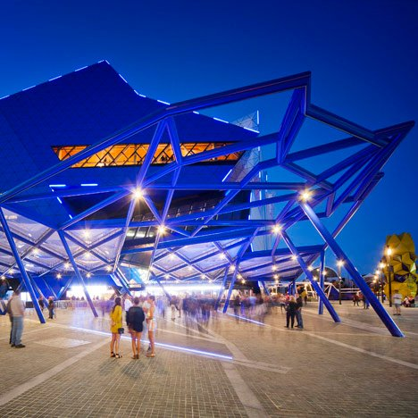 Perth Arena, Australia by ARM Architecture