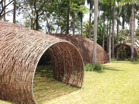 Rattan Tunnel at Bacanalia