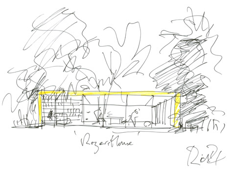 Richard Rogers RA: Inside Out exhibition
