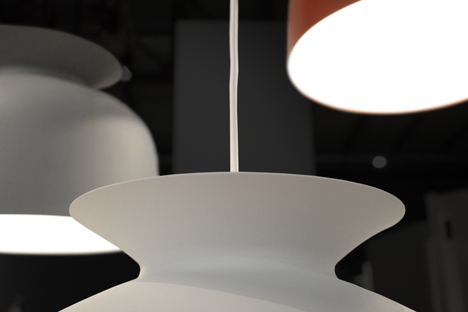 Ronde lamps by Oliver Schick for GUBI