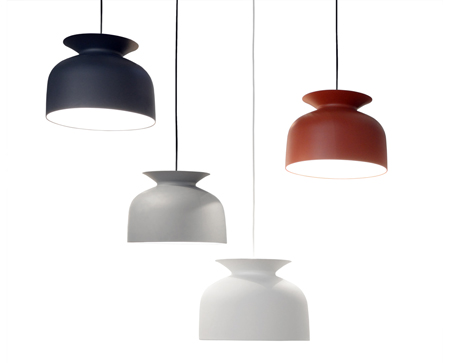 Ronde lamps by Oliver Schick for GUBI