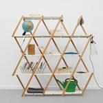Set expanding shelving by Stephanie Hornig
