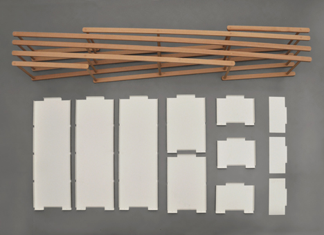 Set shelving by Stephanie Hornig