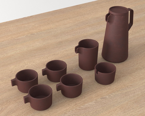 Silt tableware by VW+BS