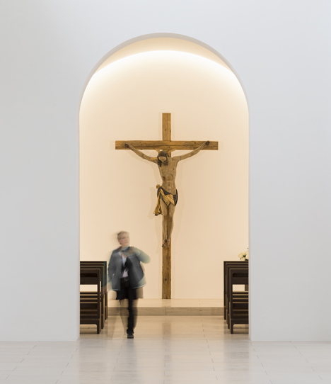 St Moritz Church by John Pawson