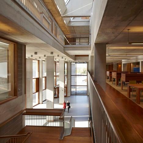University of Limerick Medical School and Pergola Bus Shelter by Grafton Architects