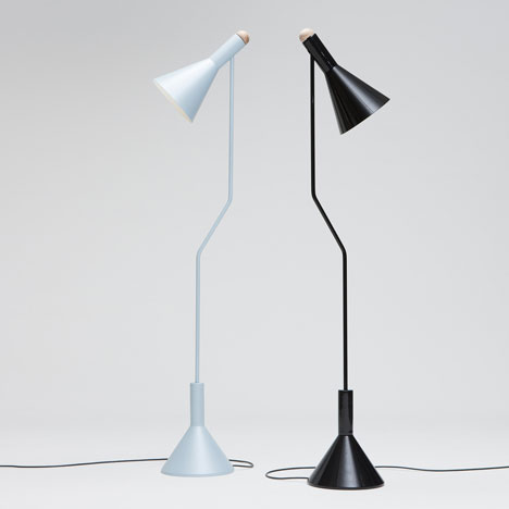 Switch Floor Lamp by Tim Webber Design