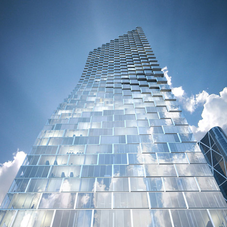 Telus Sky by BIG with Dialog