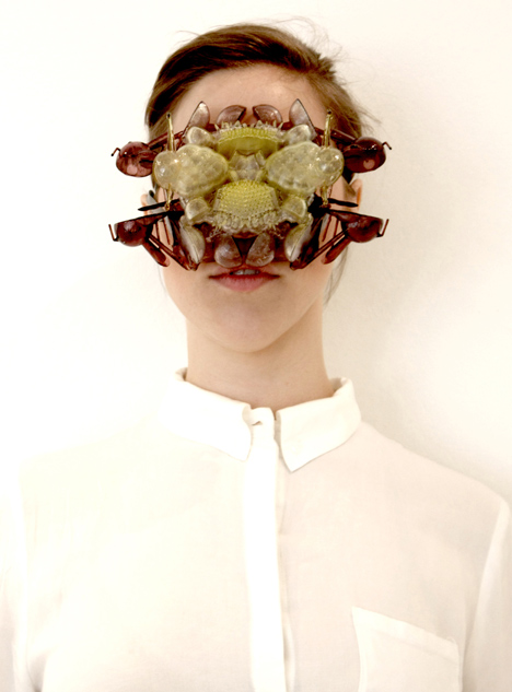 The Aesthetic of Fears 3D-printed jewellery by Dorry Hsu