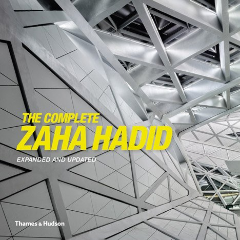Five copies of The Complete Zaha Hadid to be won