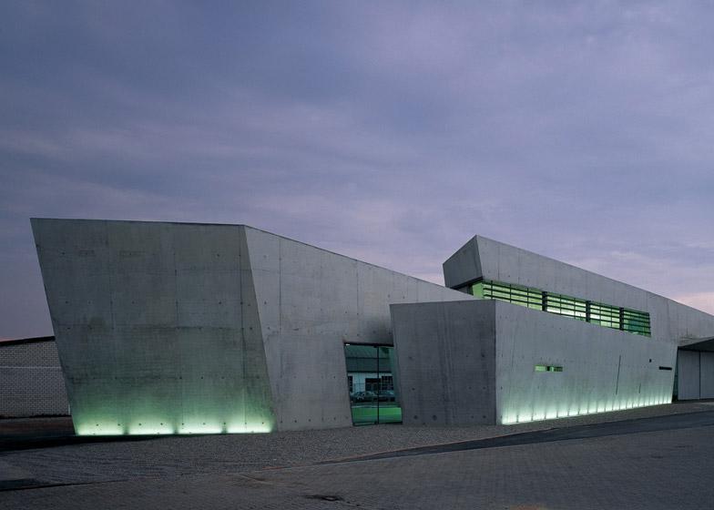 Vitra Fire Station, Weil am Rhein
