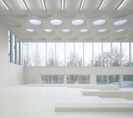 The Forum at Eckenberg Gymnasium by Ecker Architekten