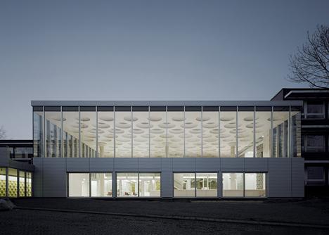 The Forum at Eckenberg Gymnasium by Ecker Architekten