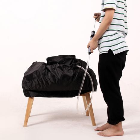 The Holding-breath Chair by Ray Jiao & Yi Wang