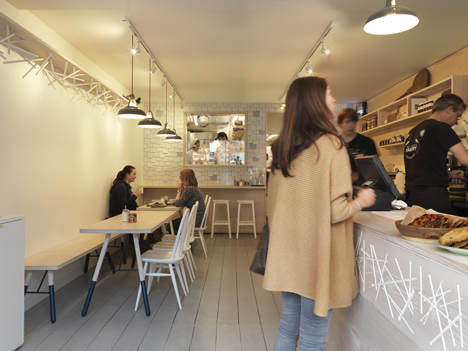 Two Magpies Bakery by Paul Crofts Studio
