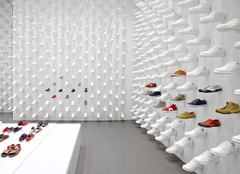 """""""We created an interior by copying and pasting a single product"""" - Oki Sato"""