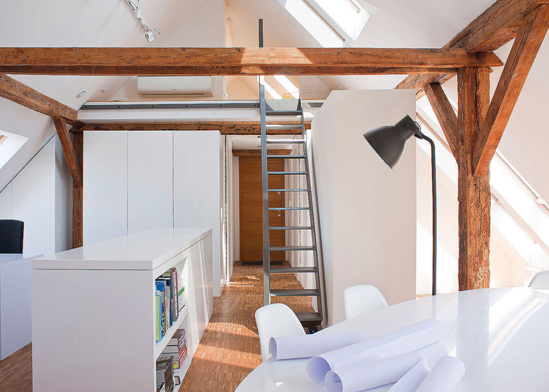 & Workshop in the Attic by PL.architekci