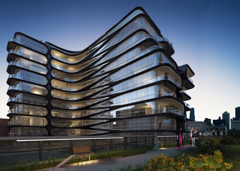 lacoste shoes zaha hadid buildings highline nyc location