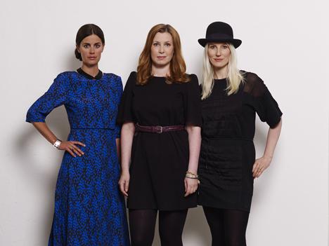 Front design trio