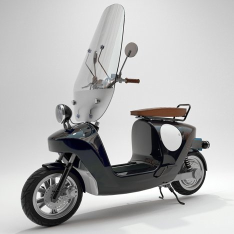 Be.e electric scooter by Waarmakers