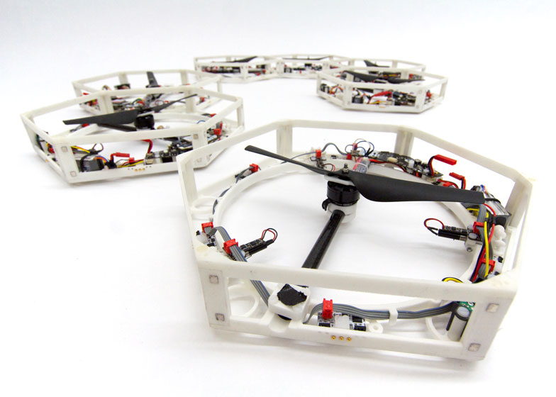 Researchers develop 3D-printed drones capable of self-assembly