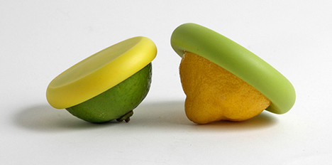 Silicone caps by Food Huggers