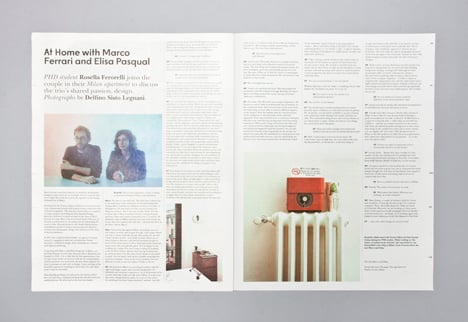 Intern magazine for creative industries