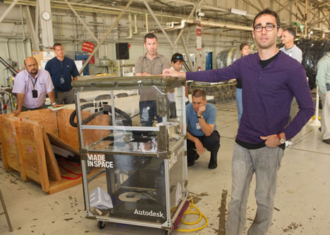 Made in Space and NASA put 3D printer in space