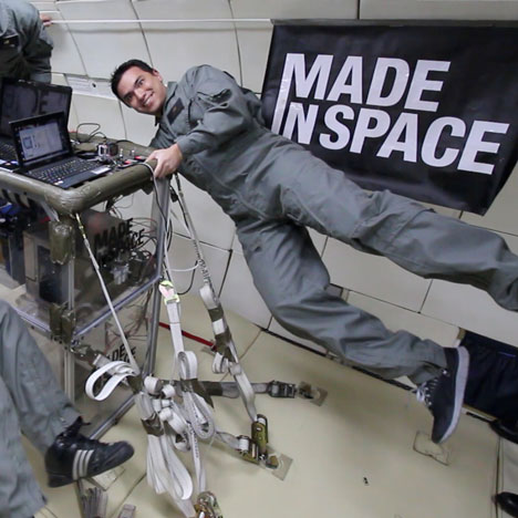 Made in Space and NASA to put 3D printer in space