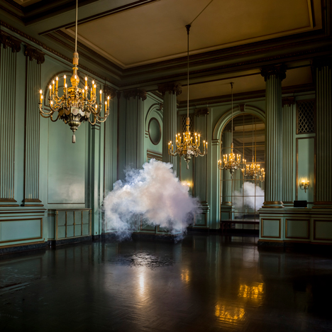 Nimbus Green Room by Berndnaut Smilde