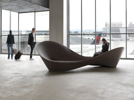 Folly Bench Design By Ron Arad For Magis