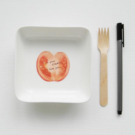 Salad Memos by Bo-yeon Oh