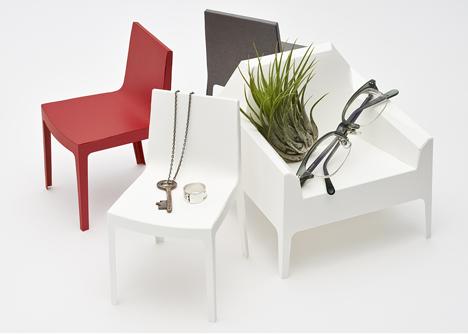 1/5 scale paper chair by Taiji Fujimori