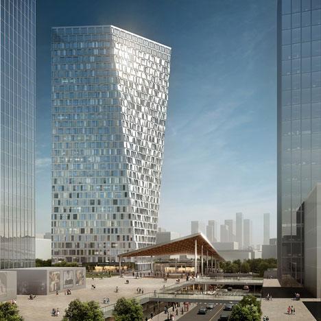 Aedas to design twisting skyscraper for Shanghai