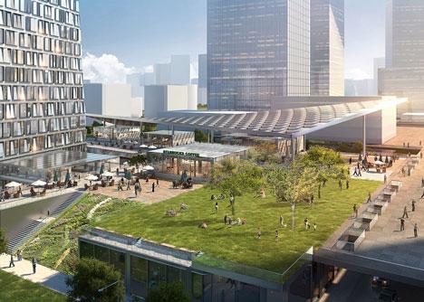 Aedas to design Xuhui Binjian Media City 188S-G-1 Tower and Podium in China