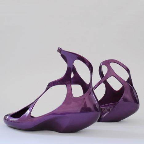 Melissa shoes by Zaha Hadid