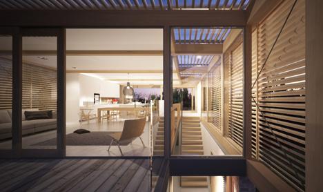 Farthings house render by Henry Goss