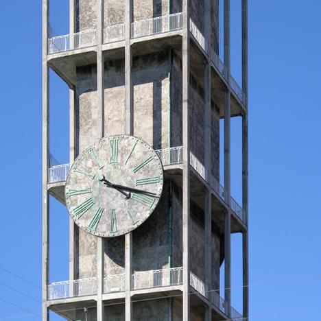 Aarhus City Hall clock