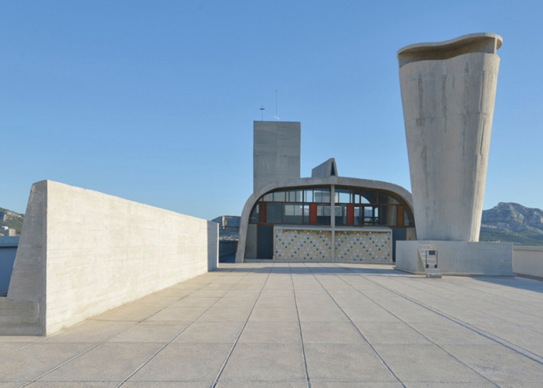 Le Corbusier's Cite Radieuse rooftop opened to the public by Ora-Ïto