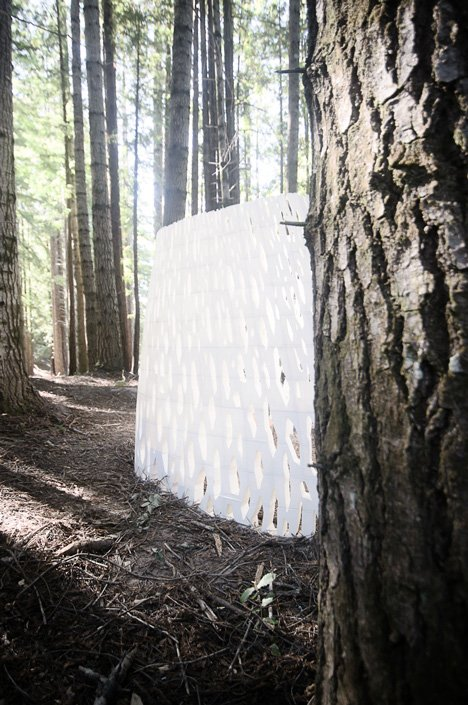 Echoviren 3D-printed architecture by Smith|Allen