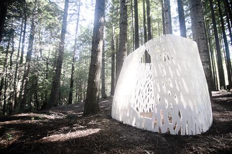 Echoviren 3D printed architecture by Smith   Allen
