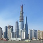 World's second-tallest building tops out in Shanghai